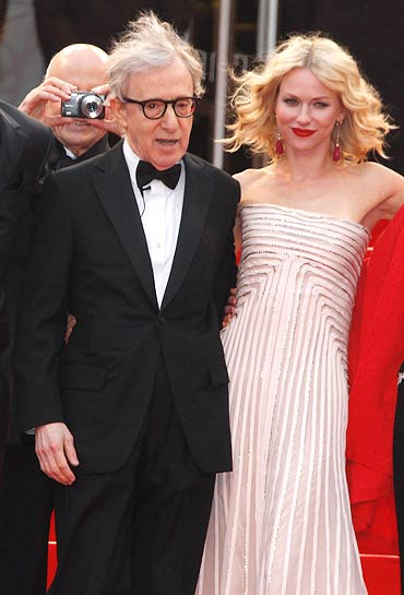 Woody Allen and Naomi Watts