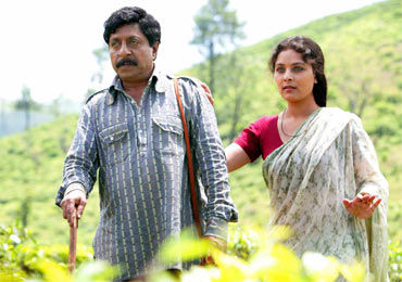 First Look: Sreenivasan, Sharbani in Aatmakadha - Rediff com movies