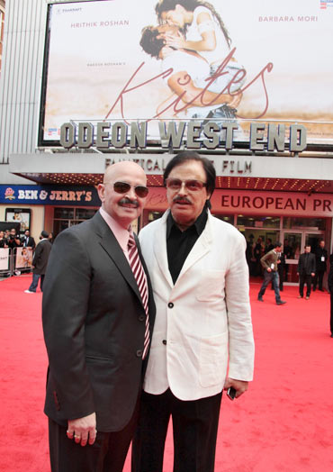Rakesh Roshan and Sanjay Khan