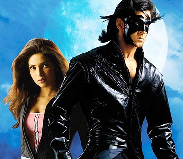 A scene from Krrish