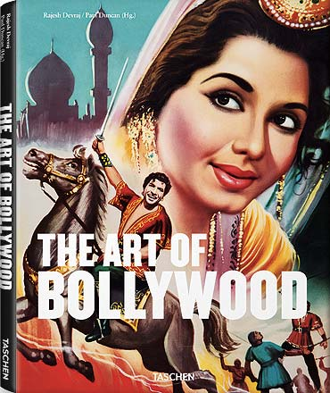 A cover of The Art of Bollywood