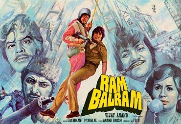 A poster orf Ram Balram