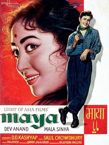 A poster of Maya