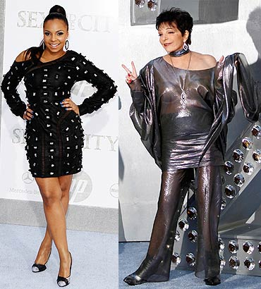 Ashanti and Liza Minnelli