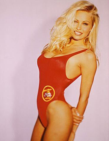 Pamela Anderson in Baywatch