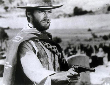 A scene from The Good The Bad The Ugly