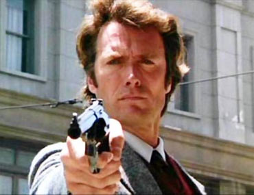 A scene from Dirty Harry