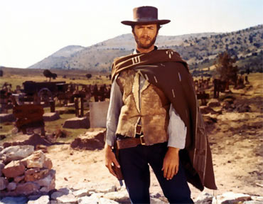 A scene from A Fistful Of Dollars