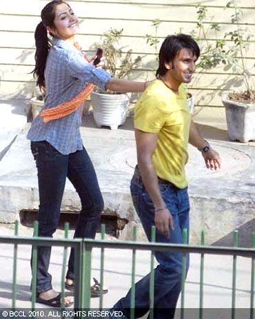 Anushka Sharma and Ranveer Singh