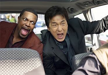 A scene from Rush Hour