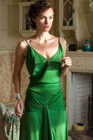 keira knightley in atonement green. Keira Knightley in Atonement