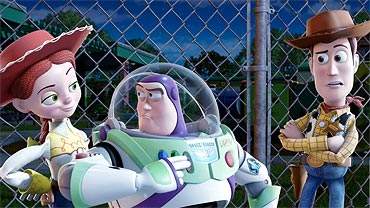A scene from Toy Story 3
