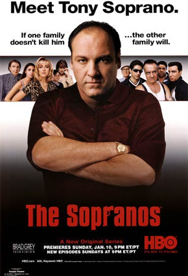 A poster of The Sopranos