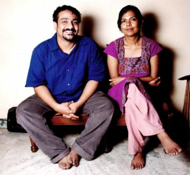Pushkar and Gayatri
