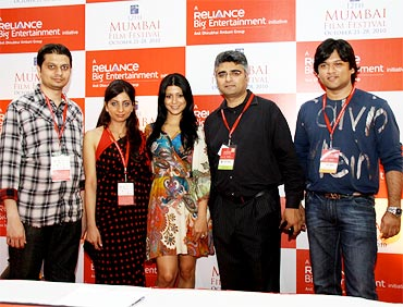 Music composer Siddharth Kasyap, producer Sheetal Vyas, actor Freishia Bomanbehram, filmmaker Nayan Padrai and signer Rishikesh Kamekar