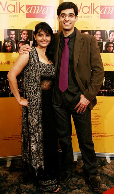 Director Shailja Gupta with executive producer Kurush Mistry