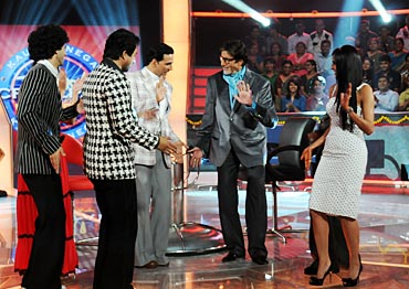 The Action Replayy gang on KBC
