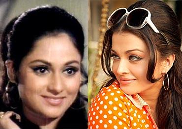 Jaya Bachchan and Aishwarya Rai Bachchan
