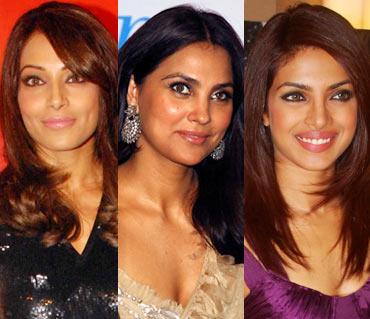Bipasha Basu, Lara Dutta and Priyanka Chopra