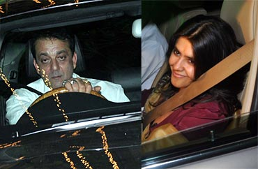 Sanjay Dutt and Ekta Kapoor