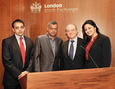 Venkat Somasundaram, Gautham Vasudev Menon, Michael Rosenburg and Reshma Ghatala