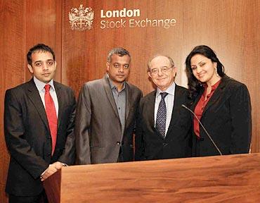 Venkat Somasundaram, Gautham Vasudev Menon, Michael Rosenburg and Reshma Ghatala