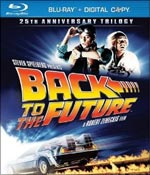 A DVD cover of Back To The Future