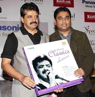 Srinivas and A R Rahman