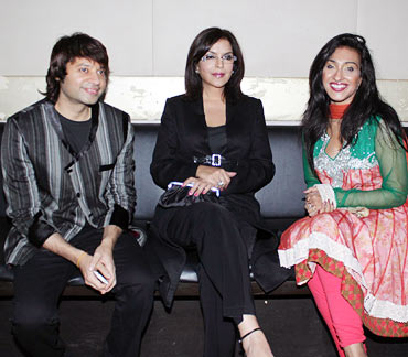 Kapil Sharma, Zeenat Aman and Rituparna Sengupta