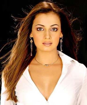 diya mirza maxim november 2010. Dia Mirza is a busy busy girl.