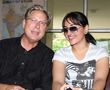 Don Moen and Sonakshi Sinha