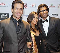 Tusshar, Ekta and Sendhil
