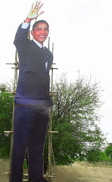 A scene from Om Obama