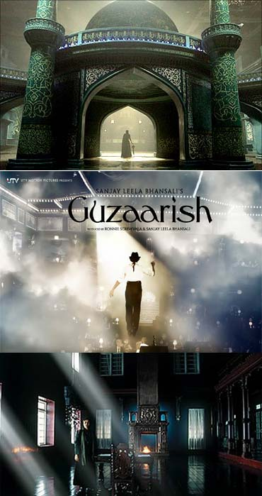 Collage of Guzaarish