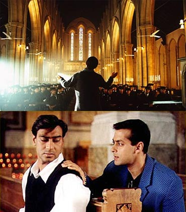 Scenes from Black and Hum Dil De Chuke Sanam