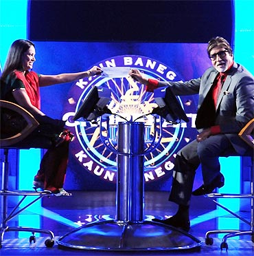 Rahat Taslim and Amitabh Bachchan on Kaun Banega Crorepati