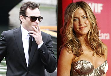 Joaquin Phoenix and Jennifer Aniston