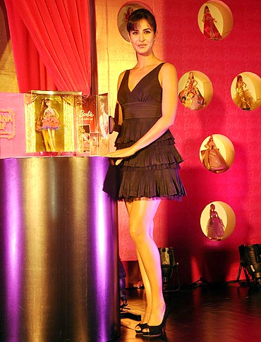 Katrina Kaif unveils the Katrina Barbie