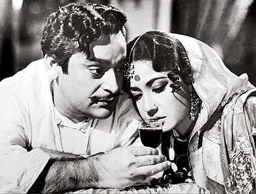 A scene from Sahib Bibi Aur Gulam