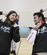 Rupal K Patel (left)