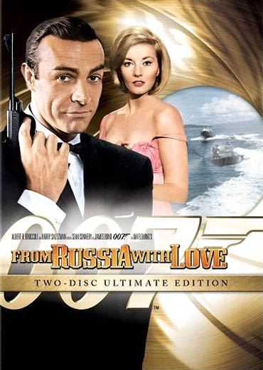 A DVD cover of From Russia With Love