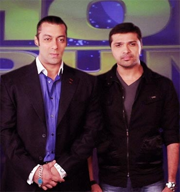 Salman and Himesh Reshammiya