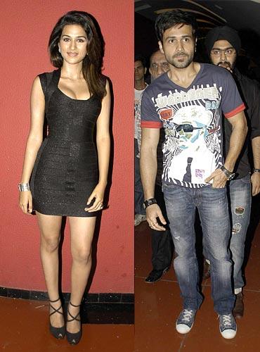 Shraddha Das and Emraan Hashmi