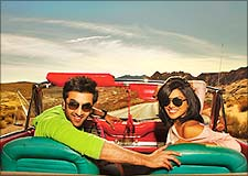 Ranbir Kapoor and Priyanka Chopra in Anjaana Anjaani