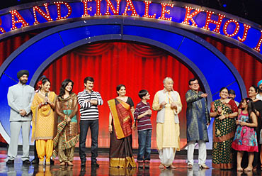 The Khichdi cast on India's Got Talent