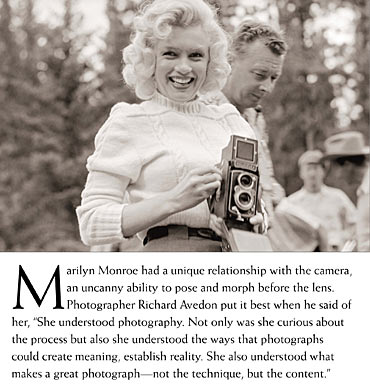 Marilyn Monroe is seen in this handout image from a collection of previously unpublished photos of her in Alberta, Canada taken in the summer of 1953.
