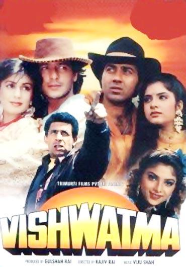 A poster of Vishwatma
