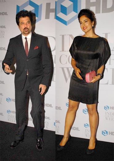 Anil Kapoor and Sameera Reddy