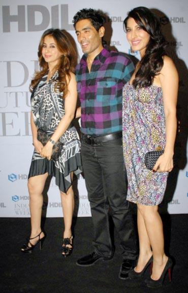 Urmila Matondkar, Manish Malhotra and Sophie Choudry