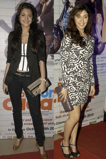 Anushka Sharma and Manjari Phadnis